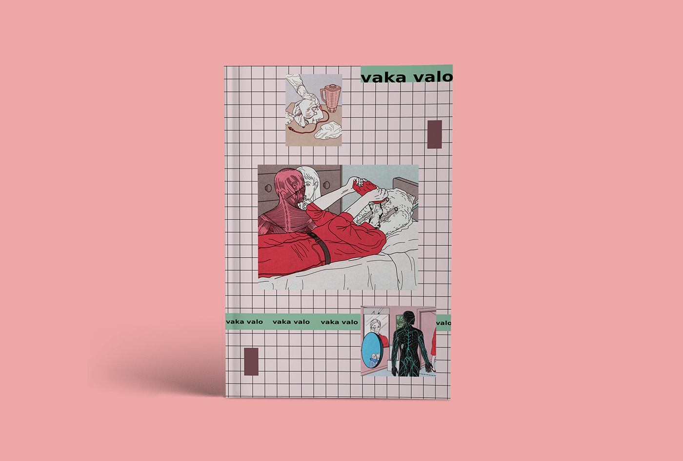 vaka valo,artist,book,print,experimental,art,dream