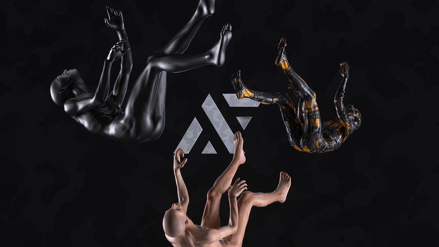 3D avantform abstract Render CGI digitalart reel motiongraphics