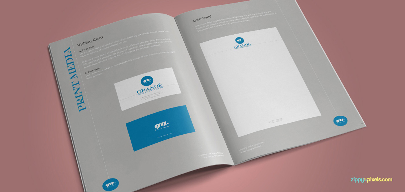 Download brand identity guidelines