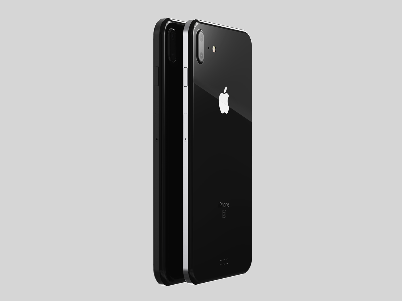 iphone x concept updated 2017 on behance. Black Bedroom Furniture Sets. Home Design Ideas