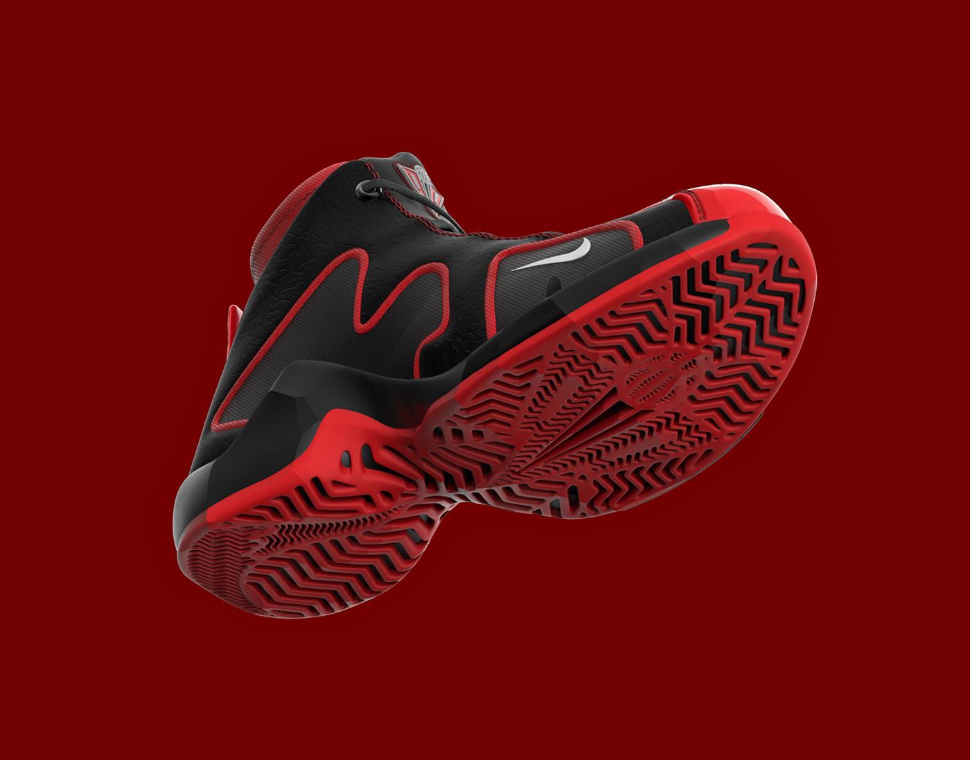 Scottie Pippen Nike Shoe