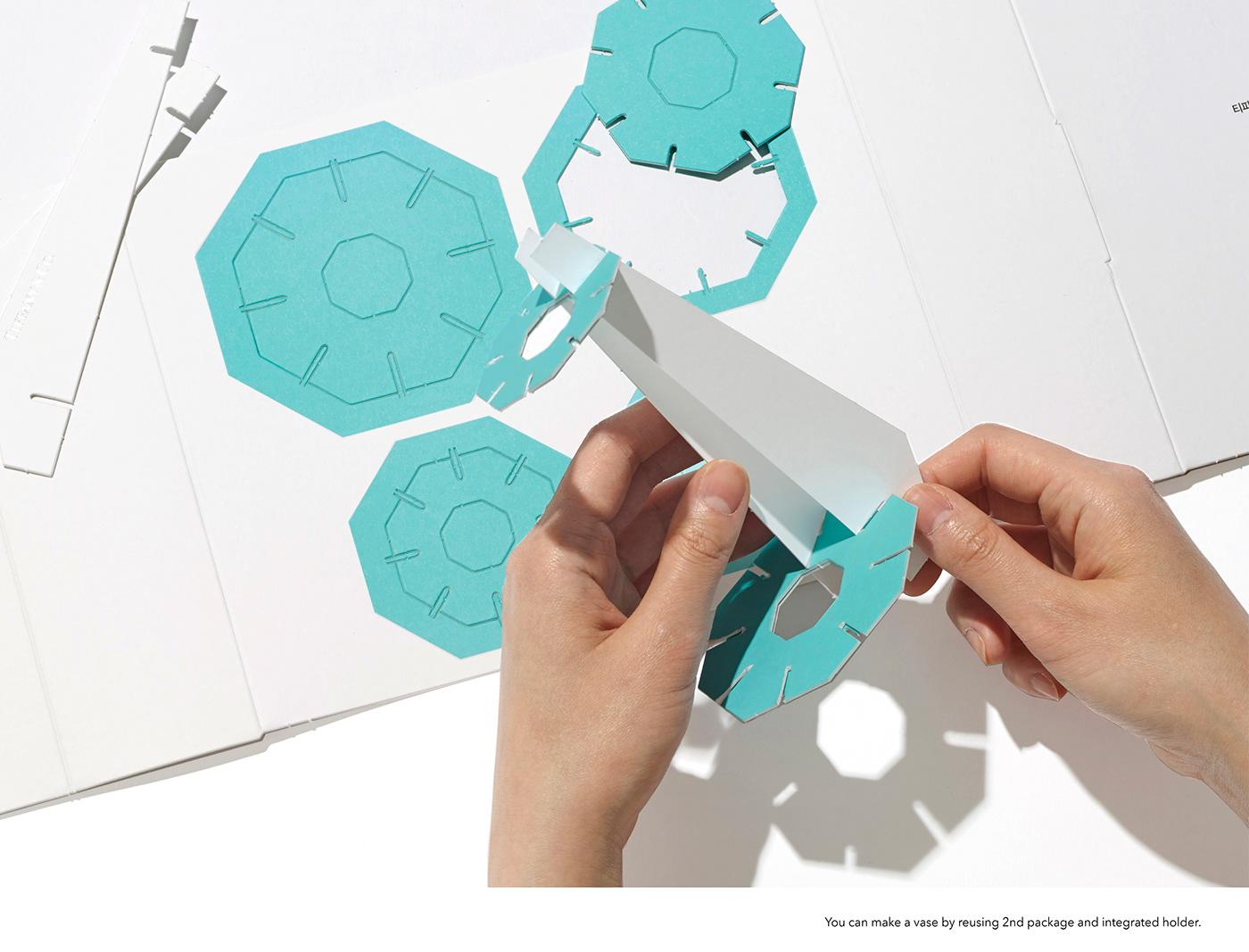 branding  gift HEAZ INFLUENCERKIT jewelry packagedesign Packaging press kit recycle tiffany