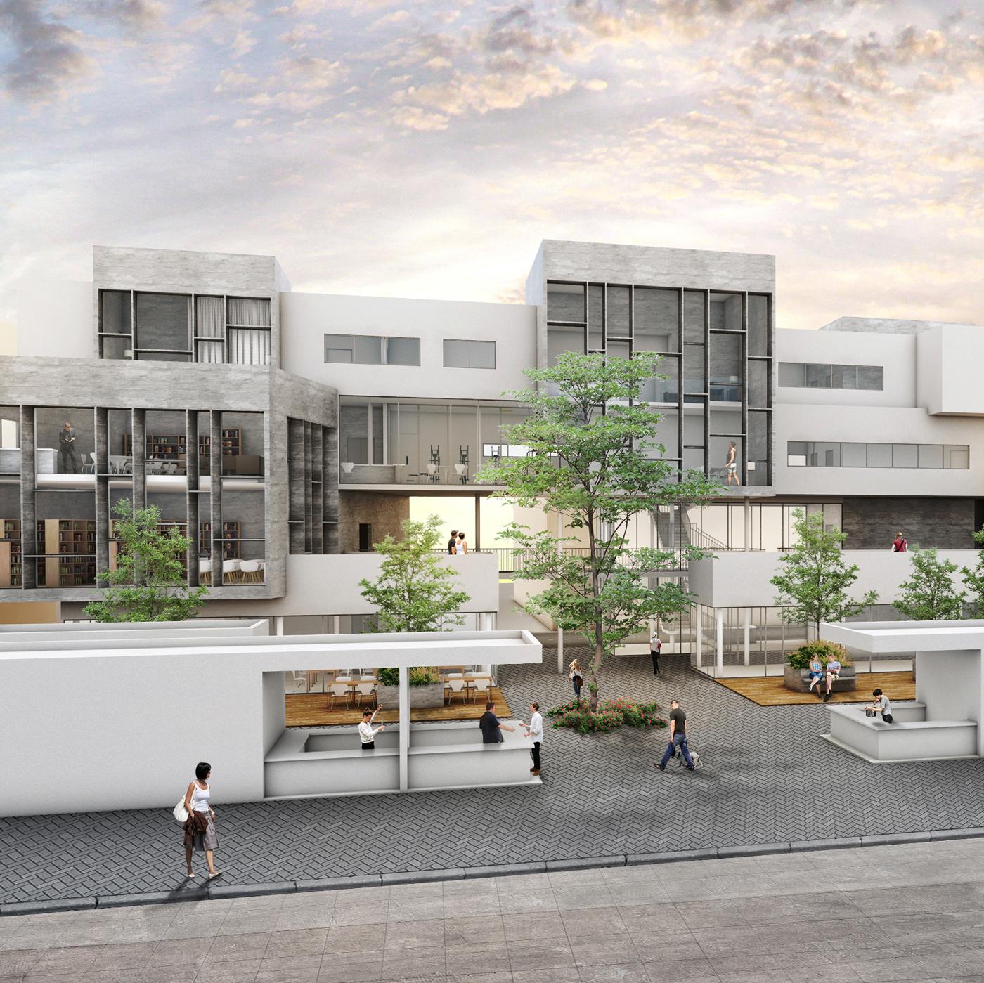Urban Elderly Community Center On Behance