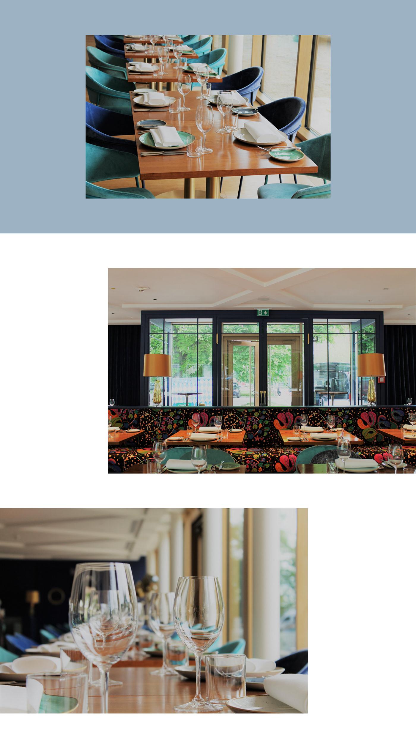 ArtDirection branding  concept corporatedesign design Icondesign ILLUSTRATION  logodesign restaurant Screendesign