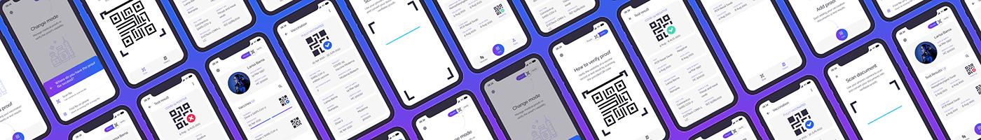 CaseStudy Interaction design  Mobile app responsive website User research vaccines visual design