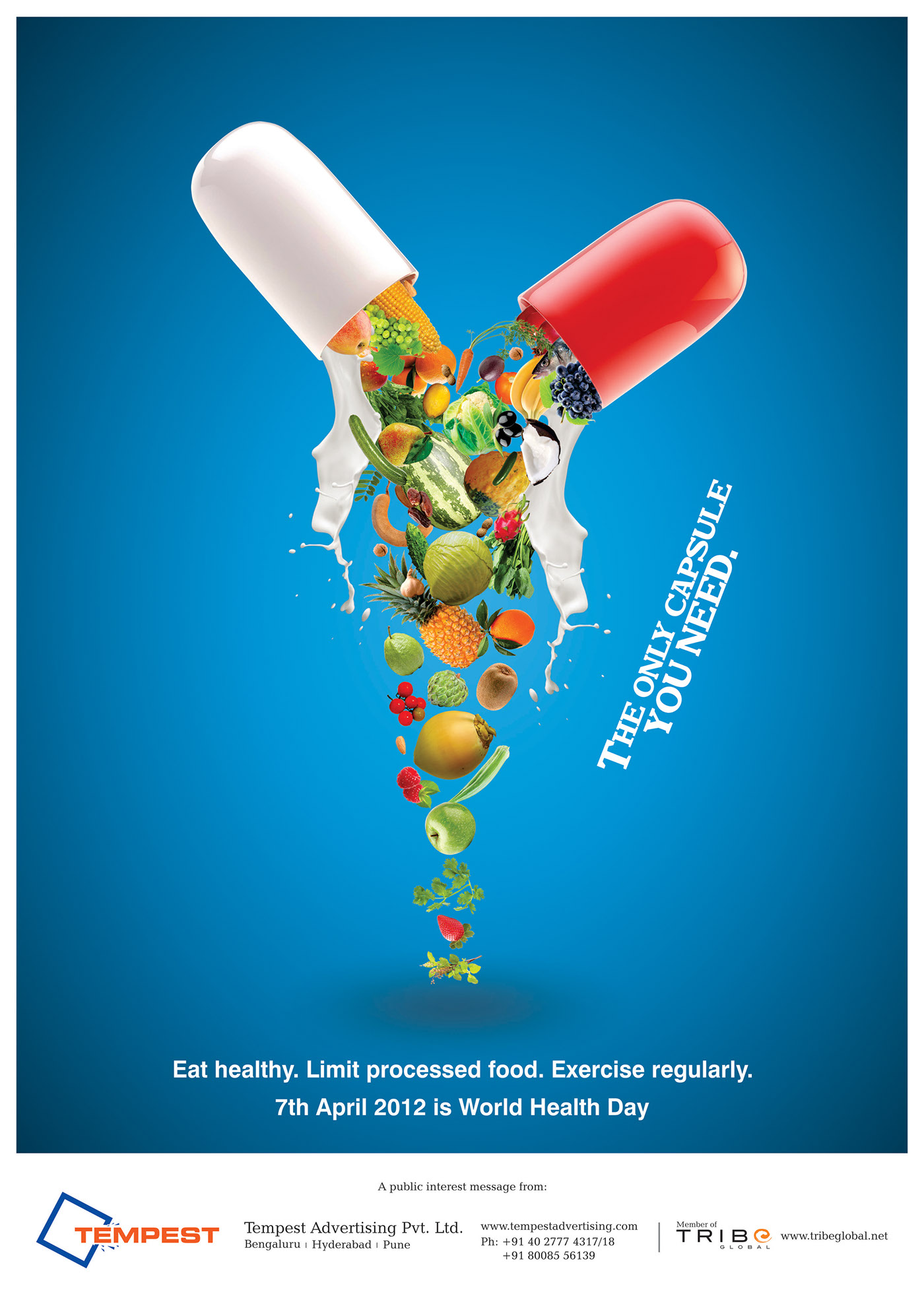 world health day on behance