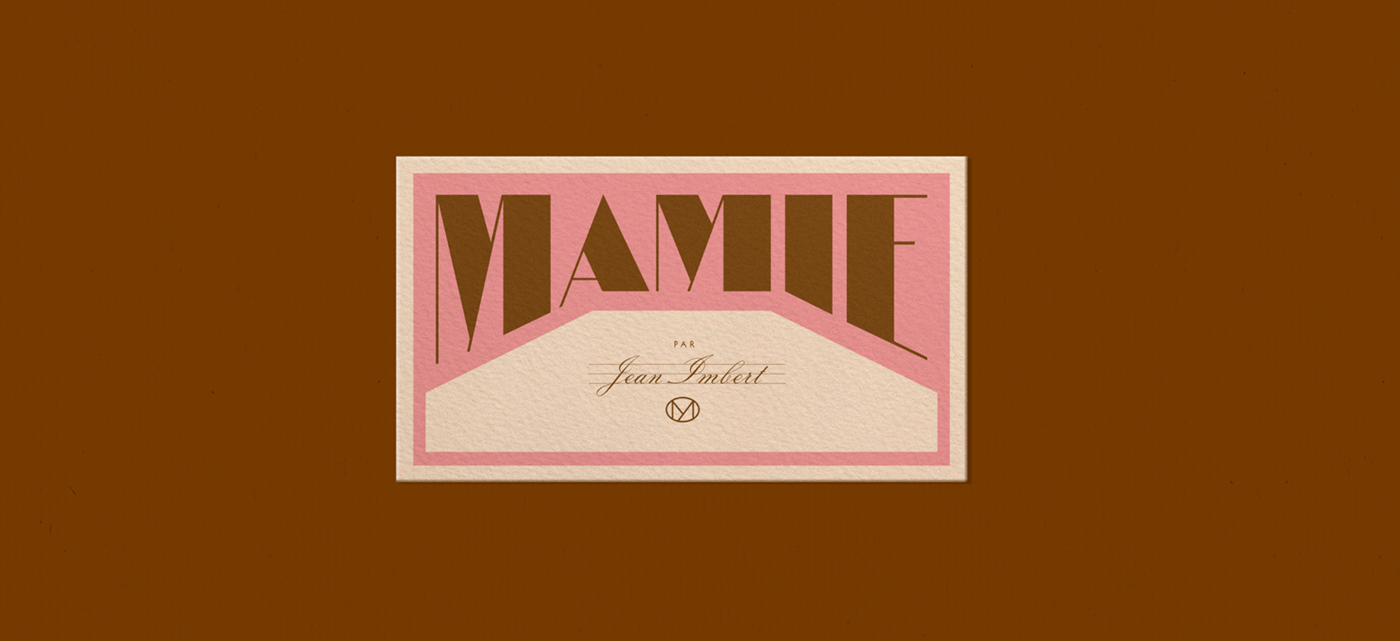 Jean Imbert restaurant mamie font Drawing  botanical Nature ILLUSTRATION  identity Restaurant Identity