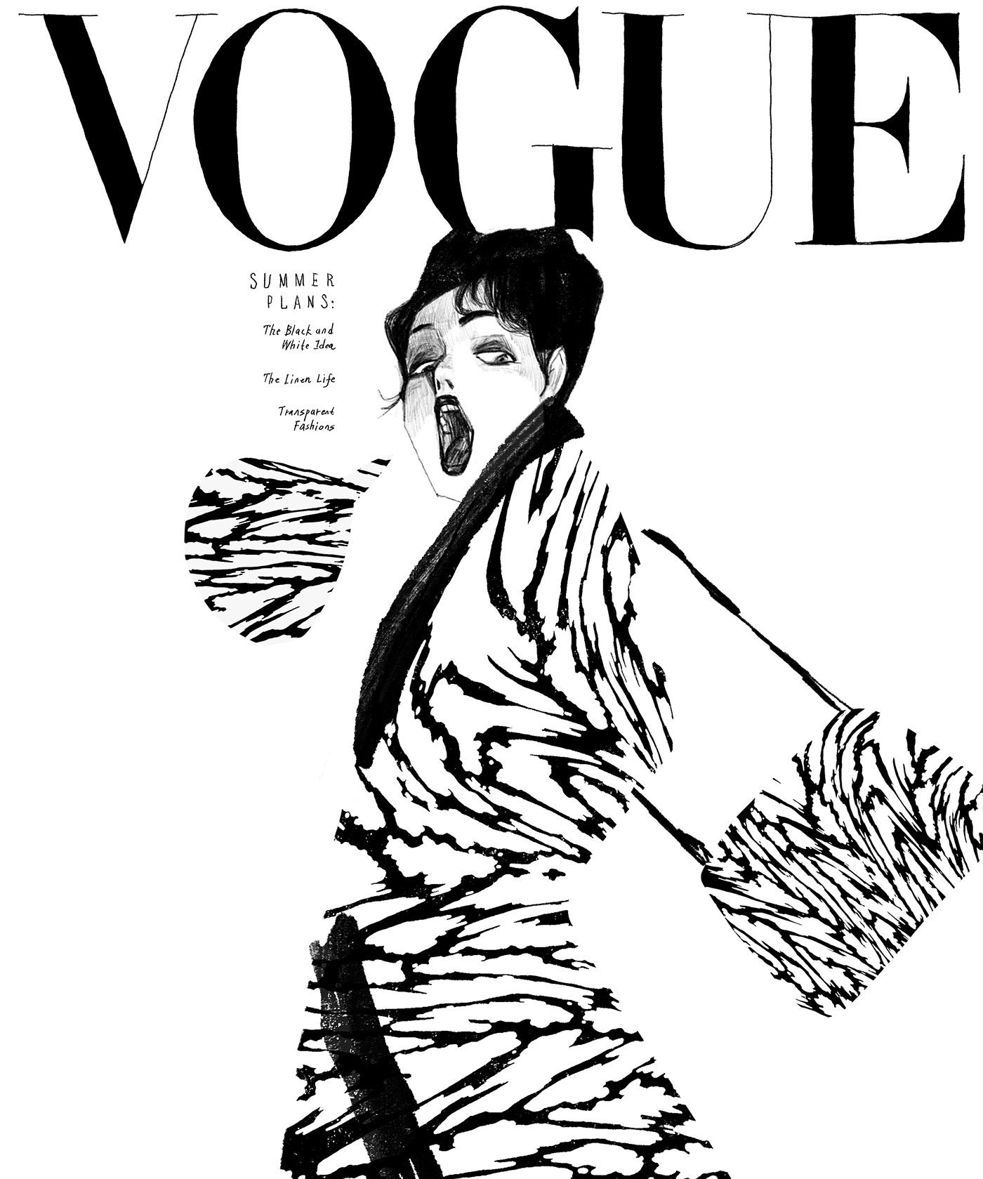 有美感的22張時尚雜誌封面欣賞