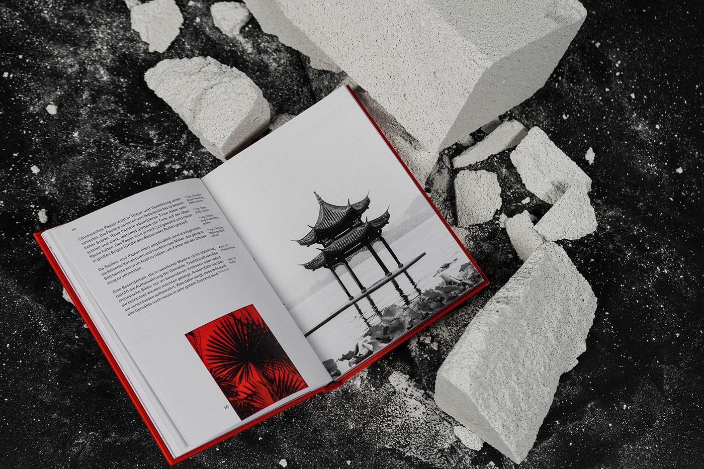 china ILLUSTRATION  red ink asia editorial design  book design akira culture