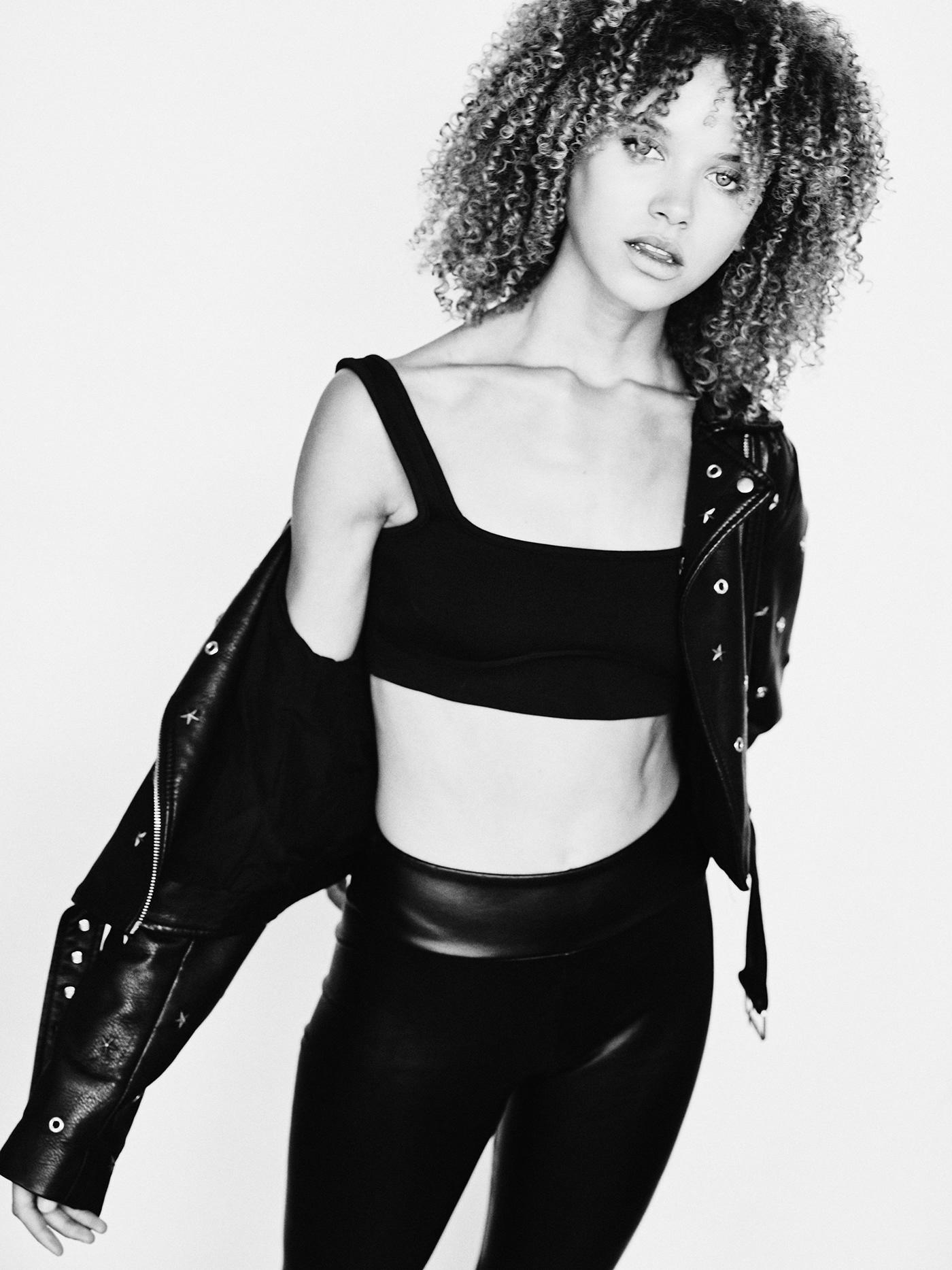 black Brazilian contact sheet leather metisse Street street fashion
