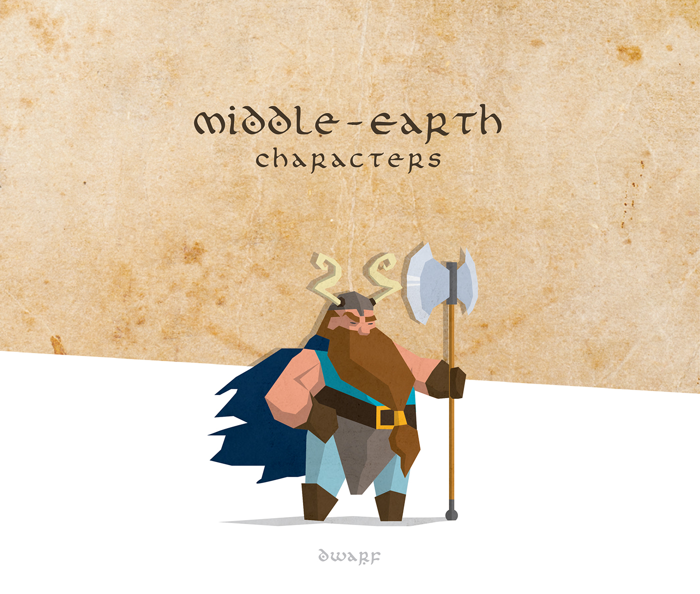 middle earth hobbit Silmarillion map infographic elf orc history illustrations Character figure creative flat design model