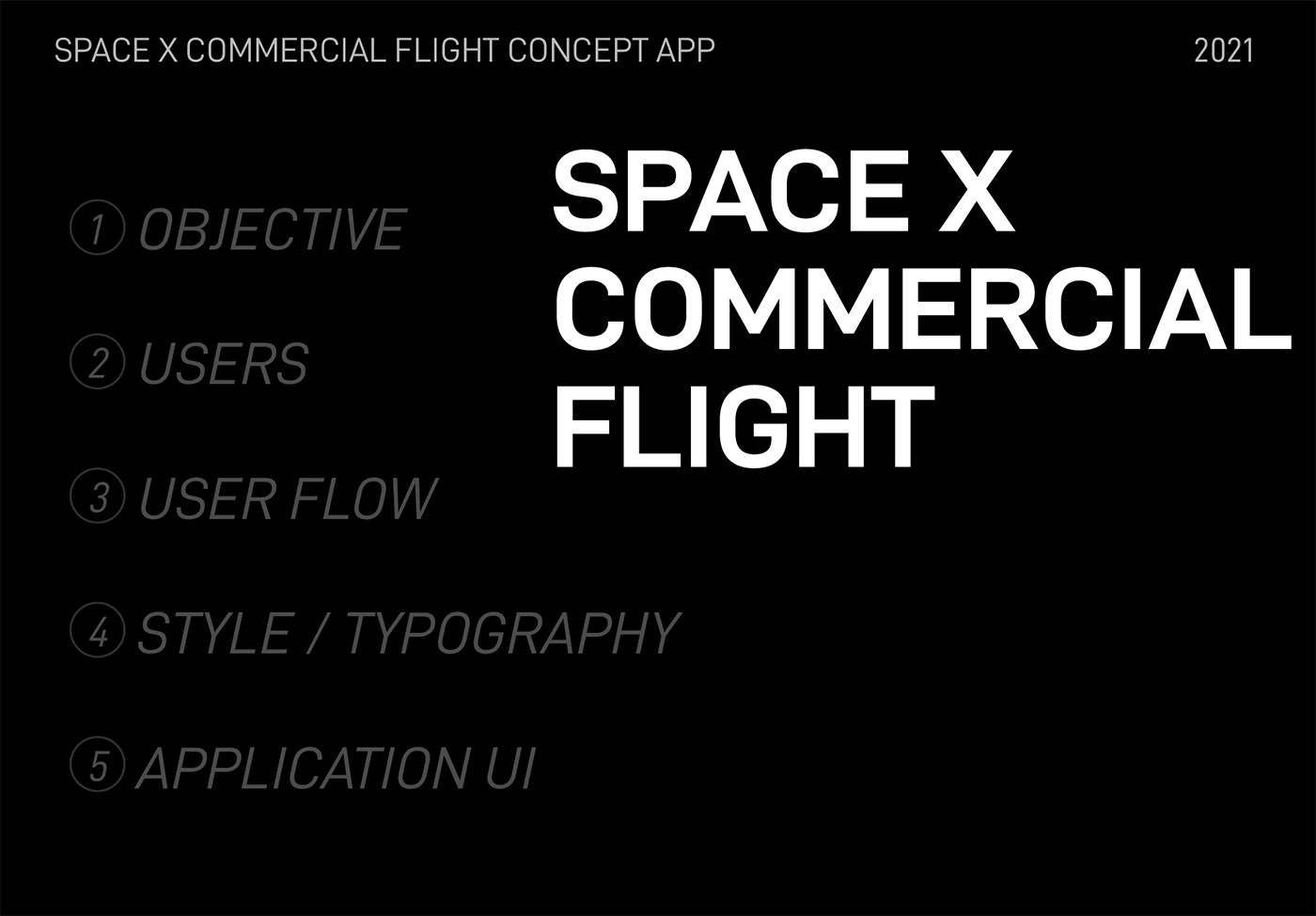 AR augmented reality concept app Space  Space X UI ux