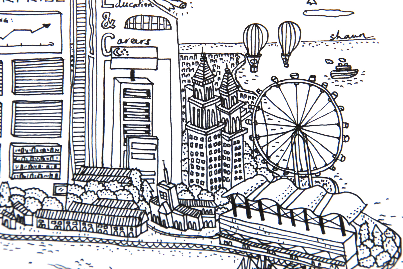 Colouring book for adults singapore -  Careers And Recreation Leisure Into A Fun Illustration That Showed The Diversity And Competency Of Mpa In This Sunny Little Island Singapore