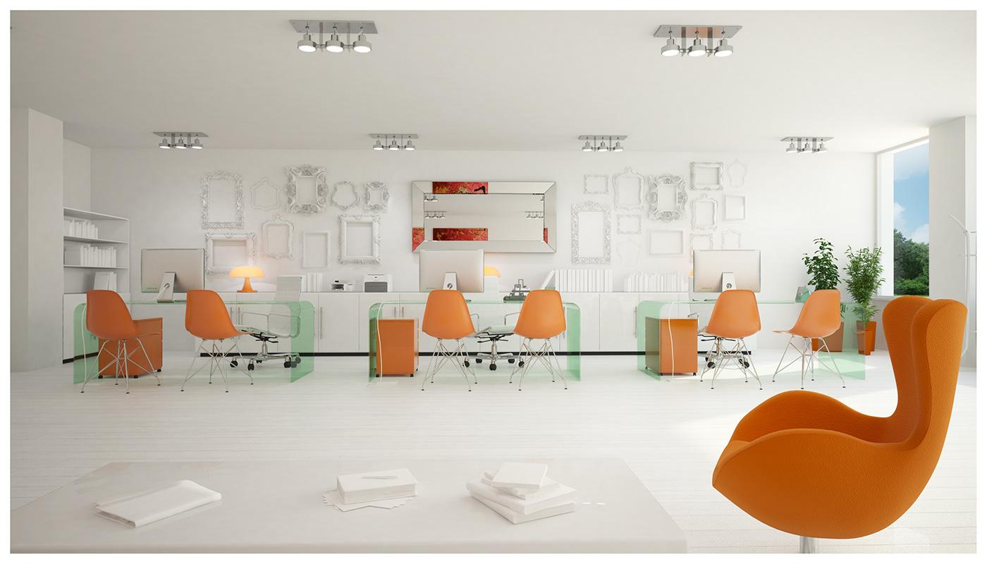 oficina inmobiliaria Interior