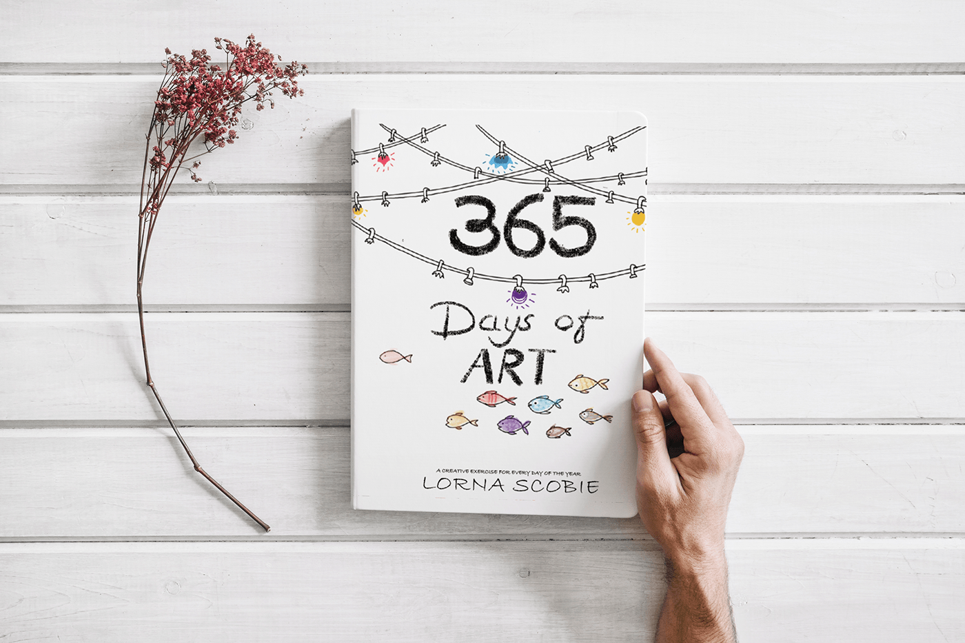 365 days of art bookcover redesign