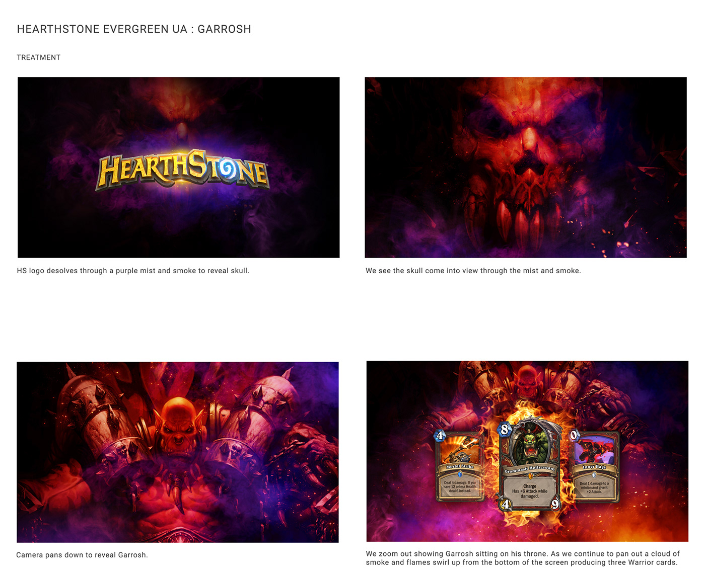 ads animation  Blizzard mobile storyboard Videogames videos