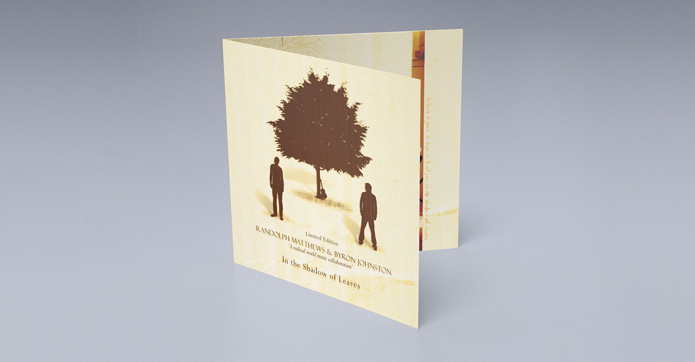 Adobe Portfolio album artwork cd musicians guitar music