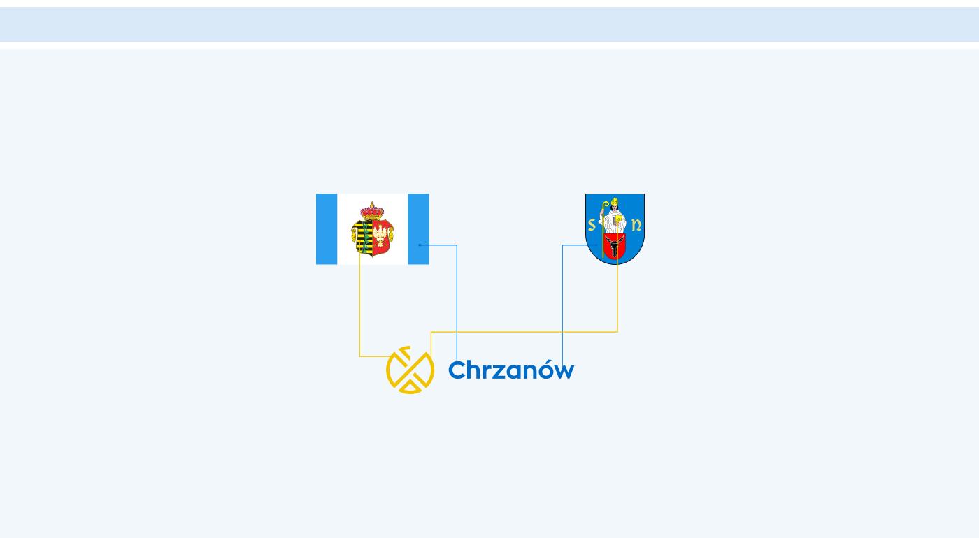 chrzanów logo gmina miasto was identyfikacja identity Orzeł eagle
