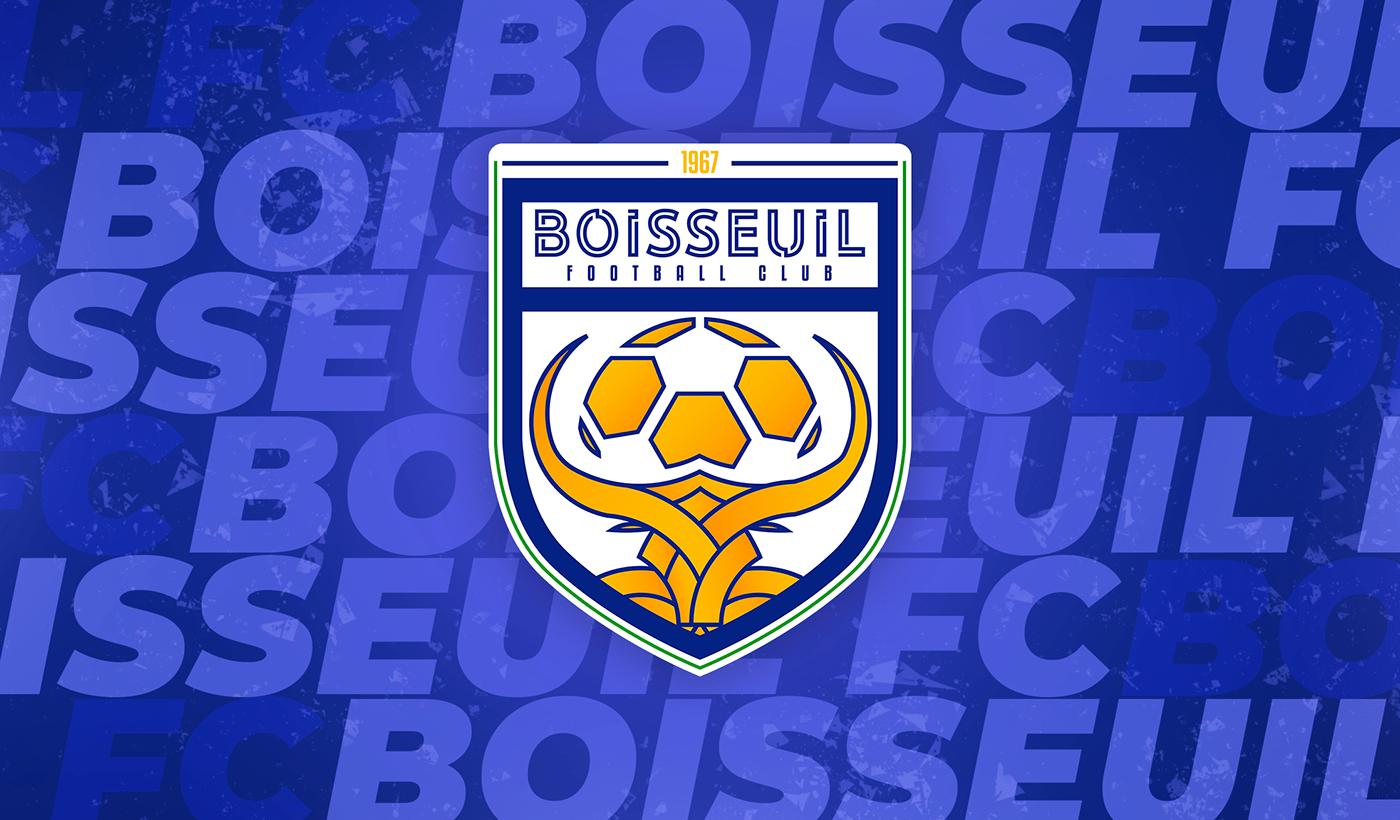 boisseuil communication Design Graphic football graphisme identidade visual jersey kit logo Nike