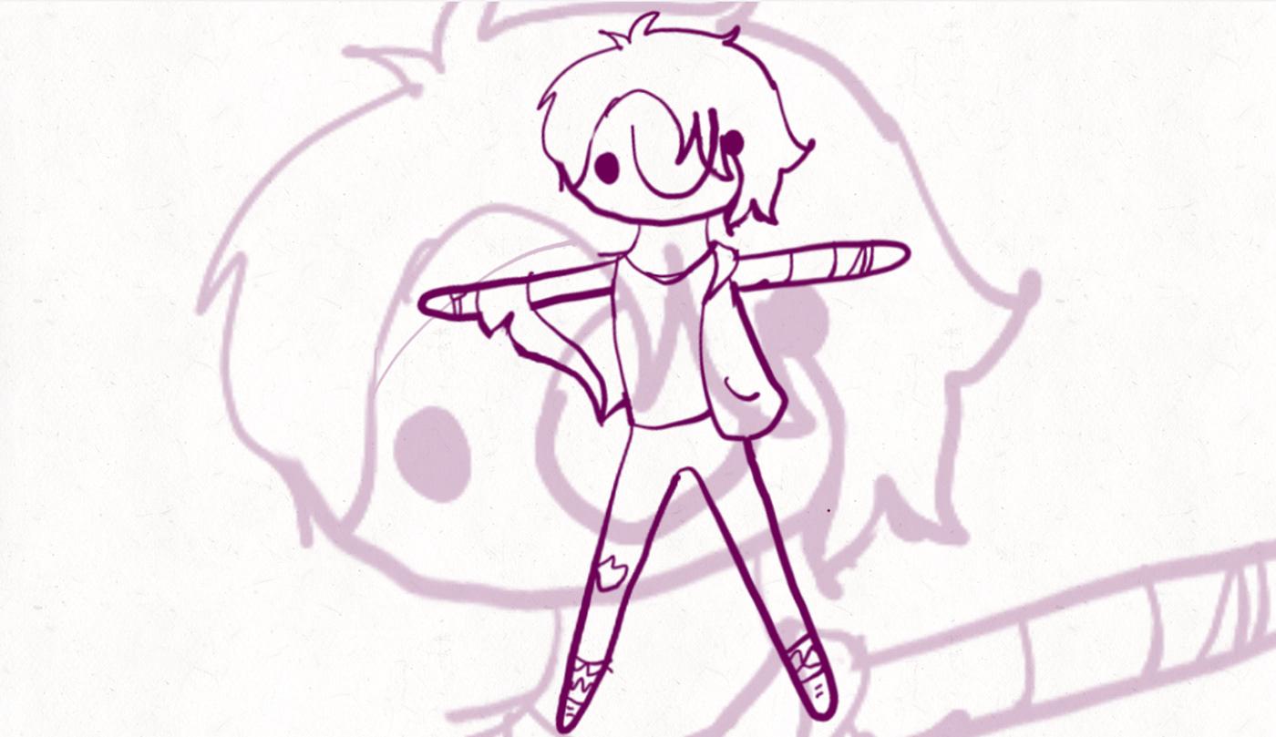 animatic animation  art Danganronpa danganronpa despair time DRDT Fan Art