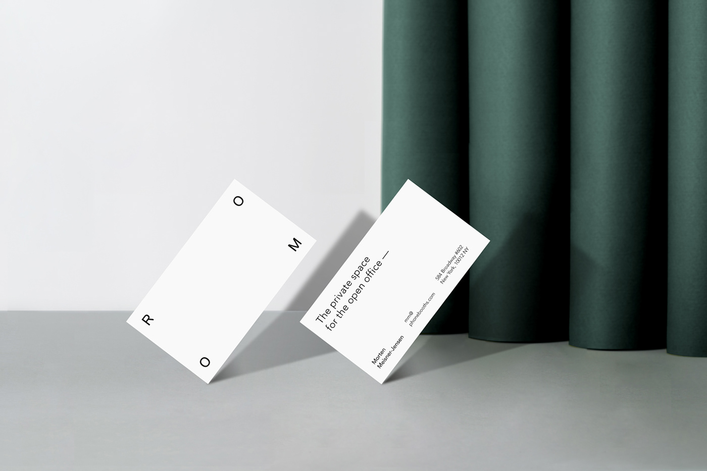 Business cards for Room