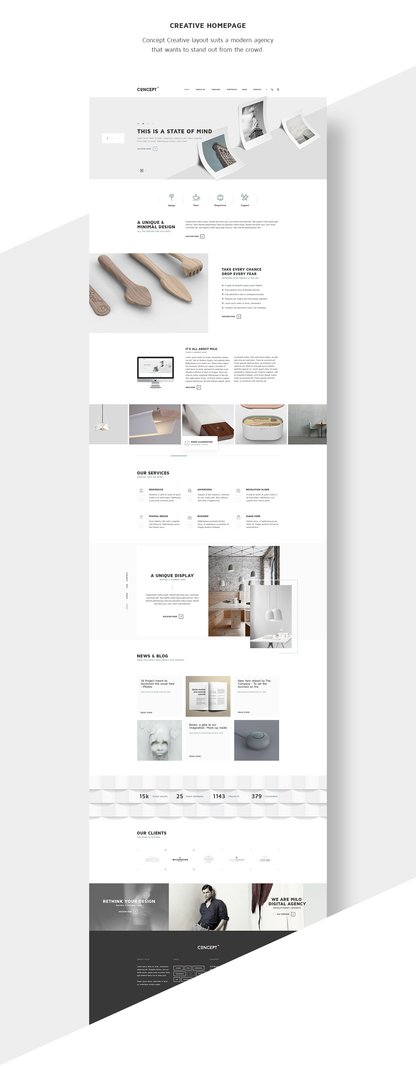 concept wordpress theme html5 template themeforest on. Black Bedroom Furniture Sets. Home Design Ideas