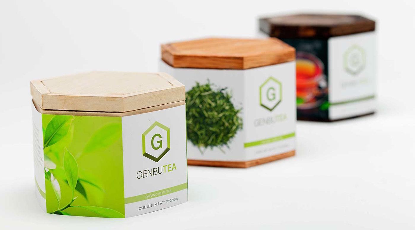 Packaging tea concept Student work
