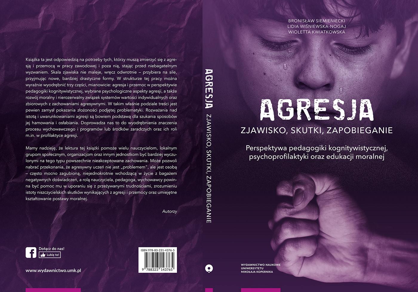Aggression Archives book cover cyberaggression grafika książka National Park okładka okładka książki