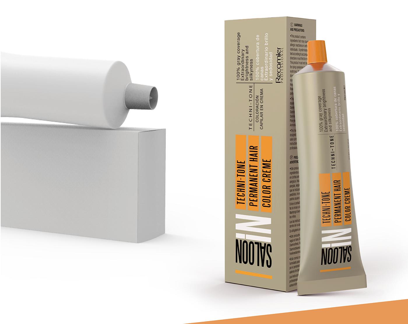 modeling packing 3D model empaque envase recamier