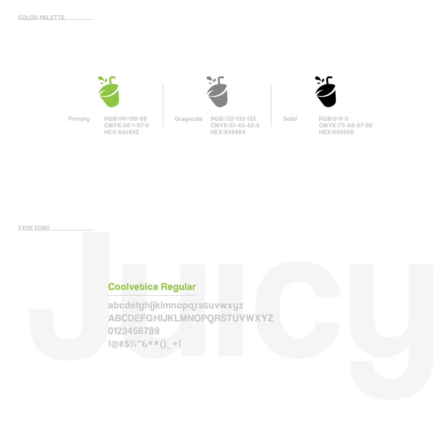 juicyco logo design on behance