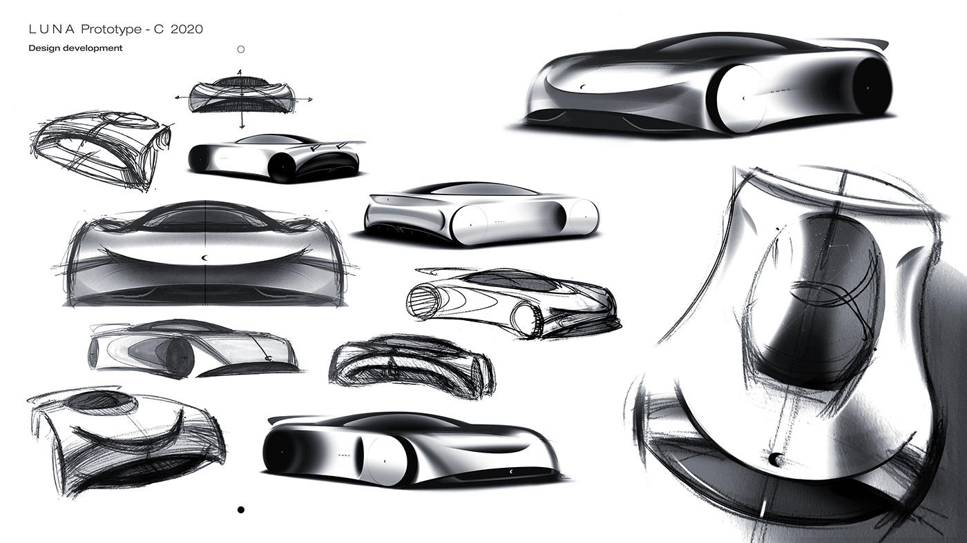 Image may contain: sketch, drawing and car