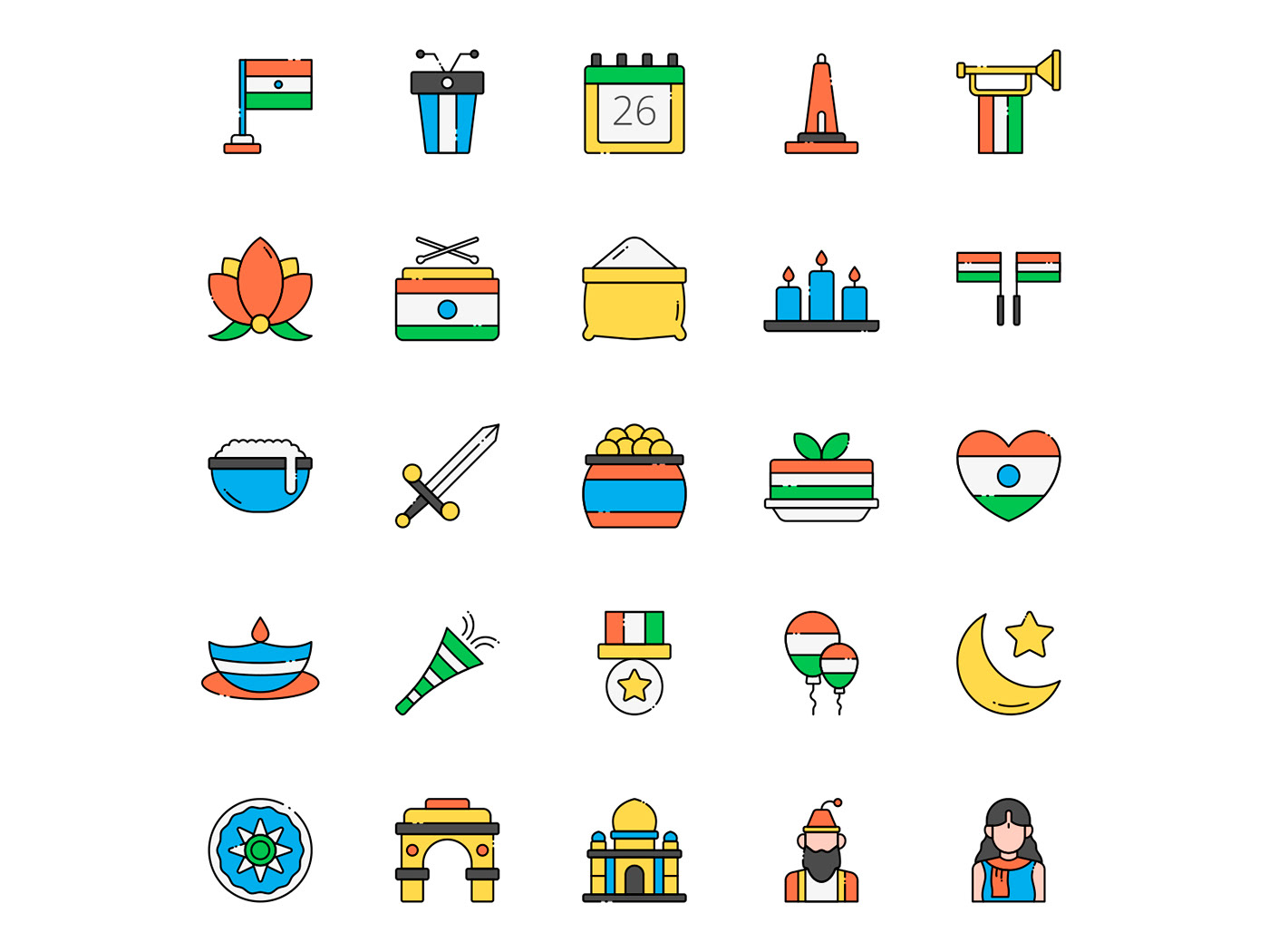 freebie icon design  icons download icons pack icons set India india icon india vector vector design vector icon