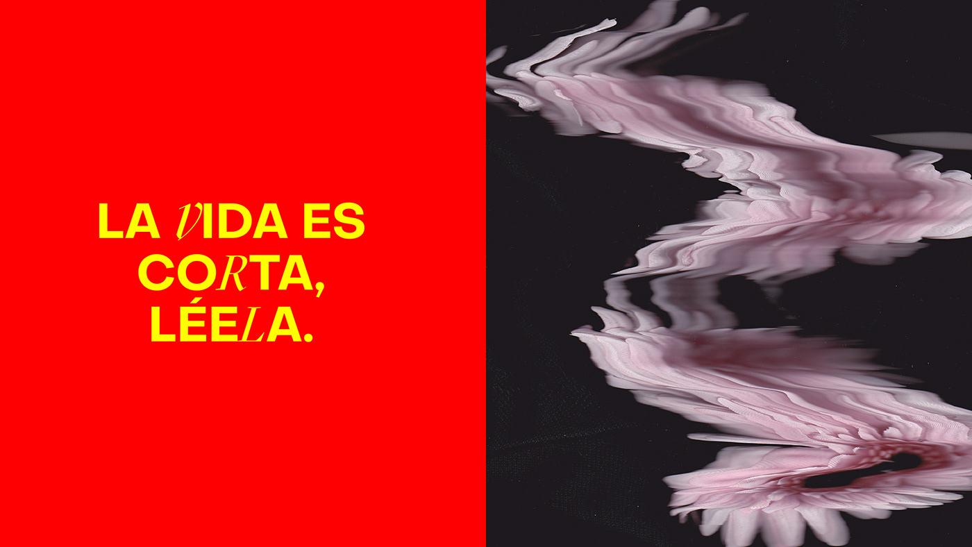 branding  diseño gráfico efimero escanografía festival identidad literatura yellow
