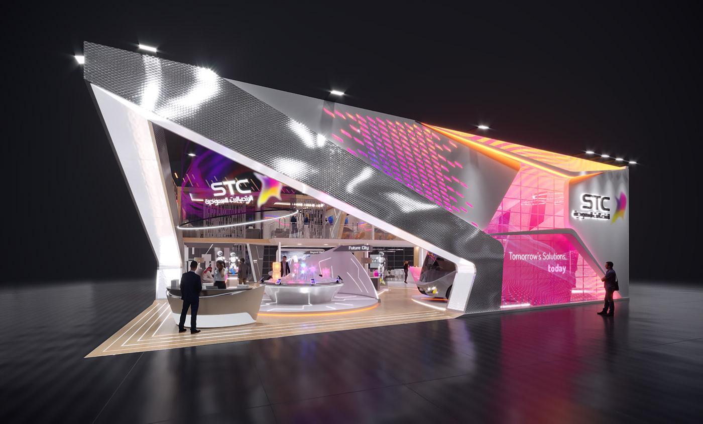 Creativity design stands Events Exhibition
