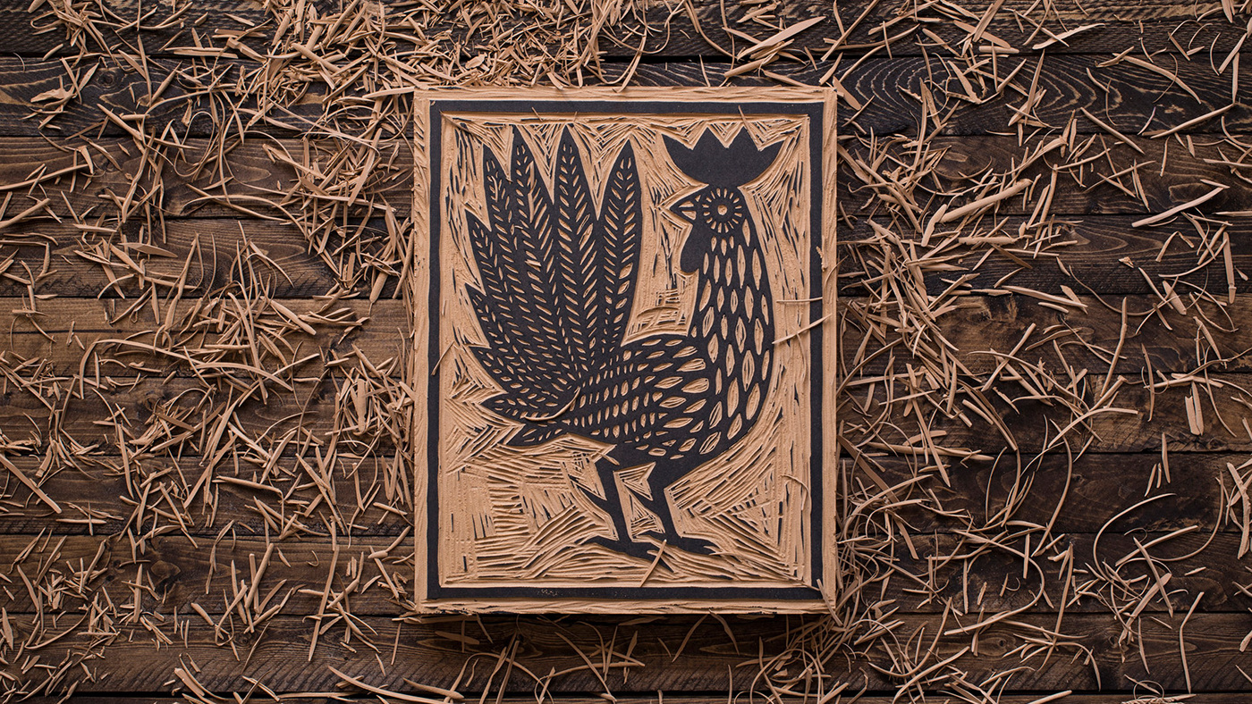Moku,kitchen,HAWAII,branding ,Rooster,logo,menu,restaurant,Mural,Urban