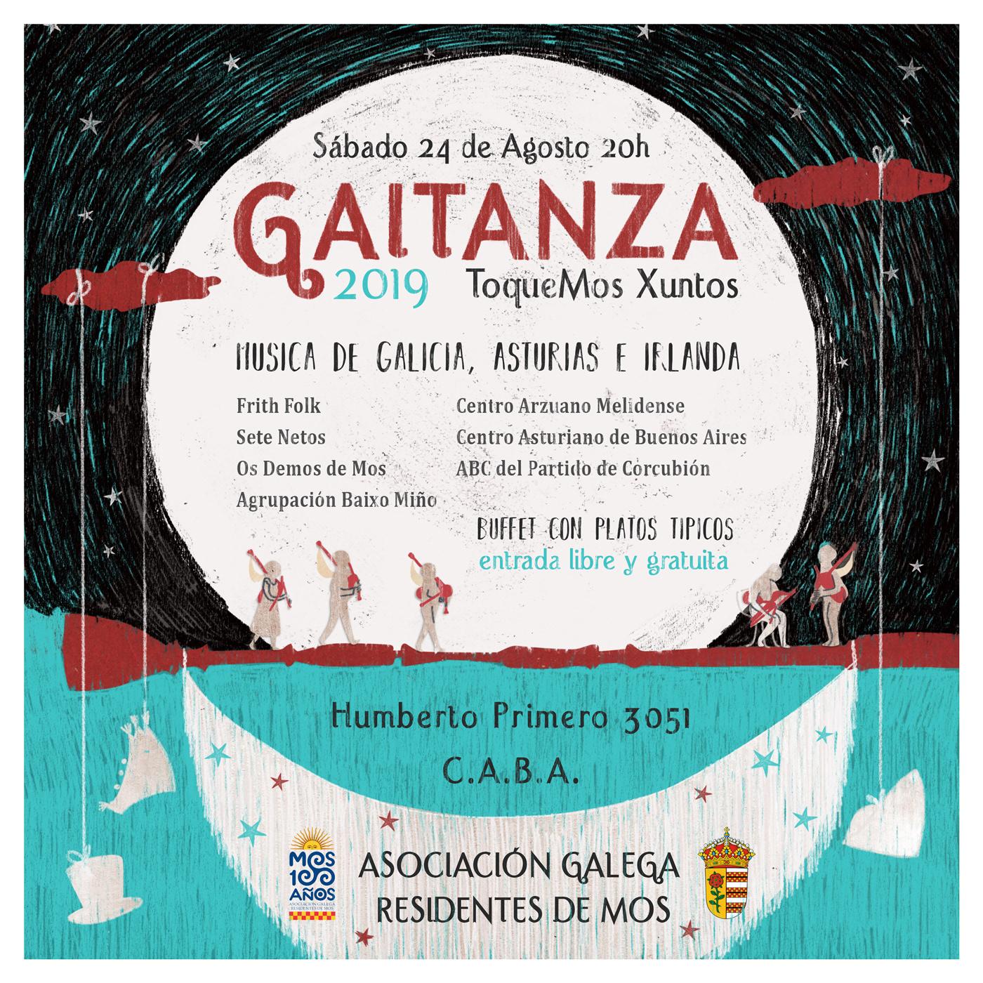 ILLUSTRATION  ilustracion digital poster flyer galego