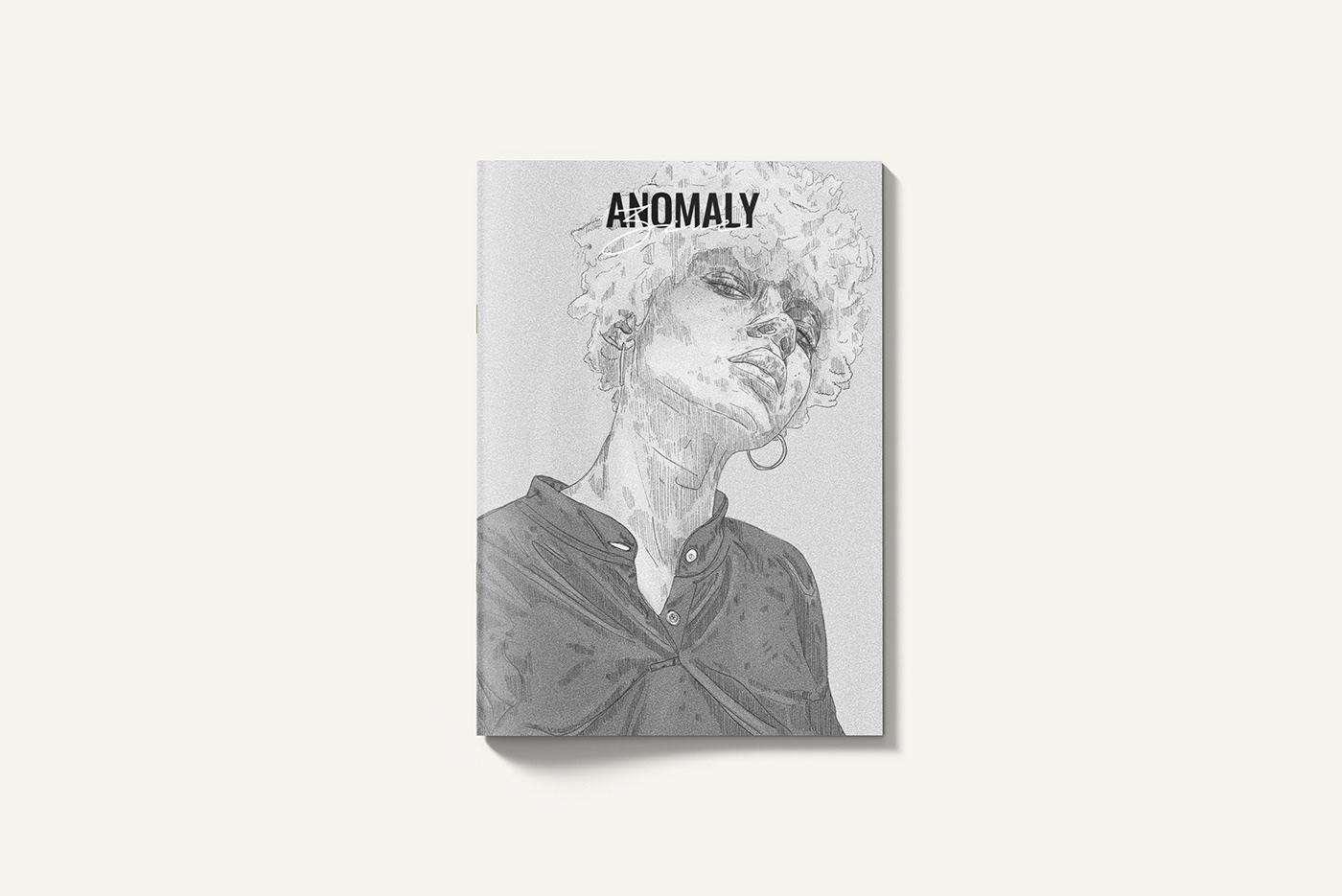 anomaly branding  desig editorial iinka ILLUSTRATION  music Photography  portraits streetstyle