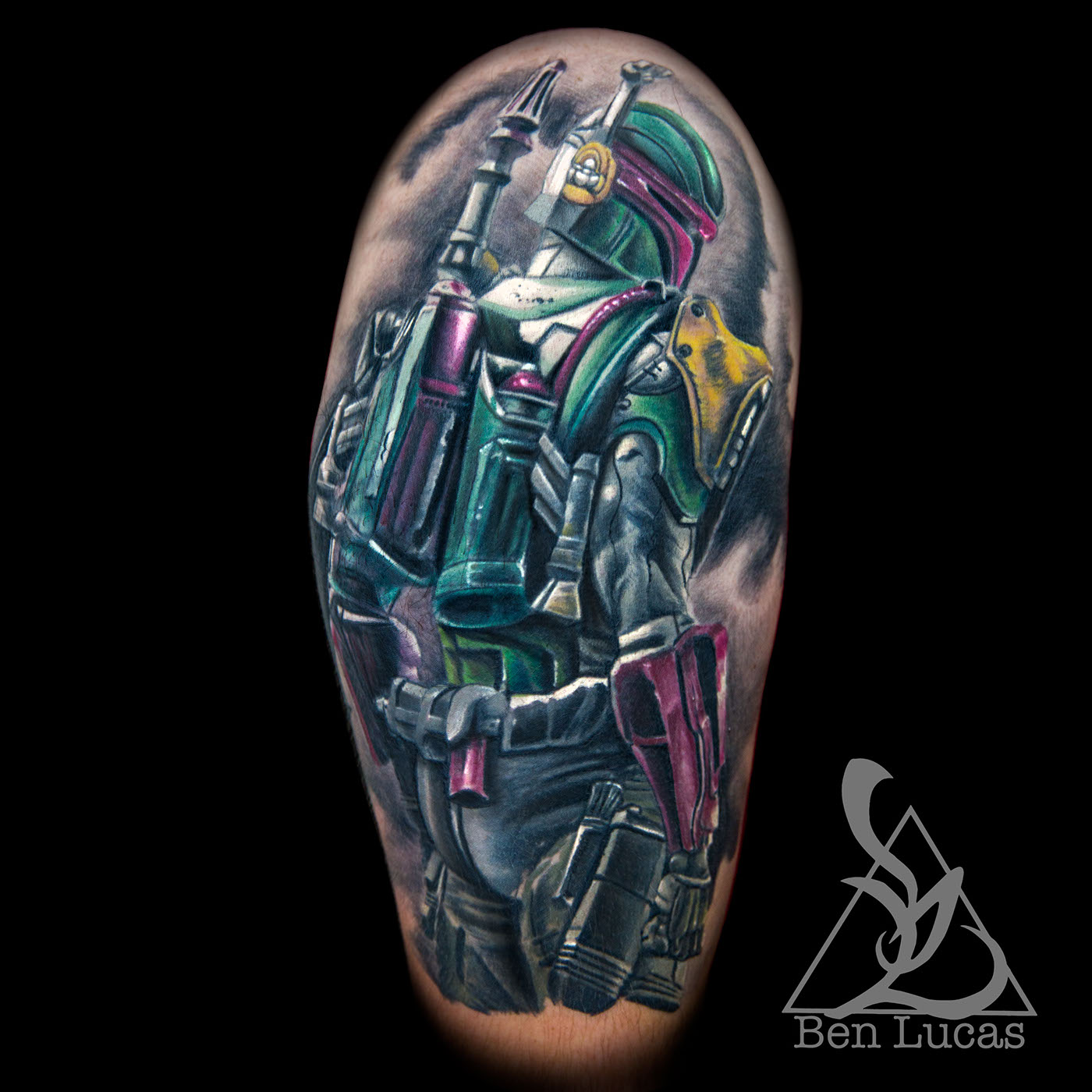 Bobafett Star Wars Tattoo On Behance