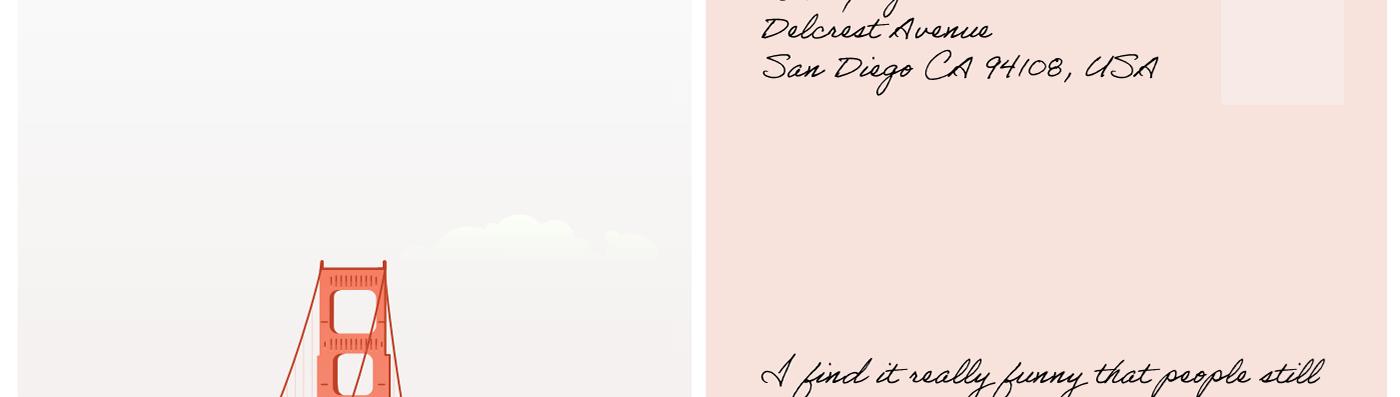 fog golden gate bridge karl minimalistic ocean beach postcards Salesforce san francisco Sutro Tower posters