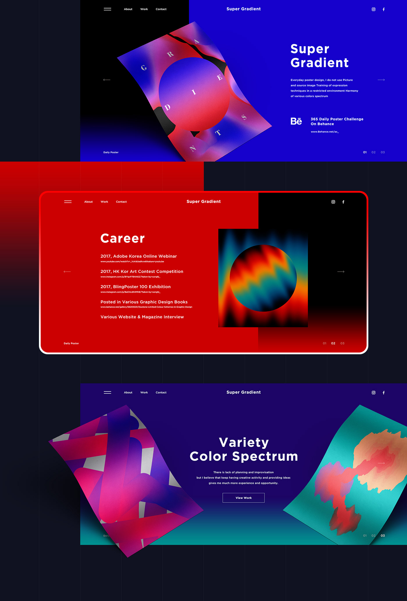 gradient,spectrum,color,brand,concept,light,dark