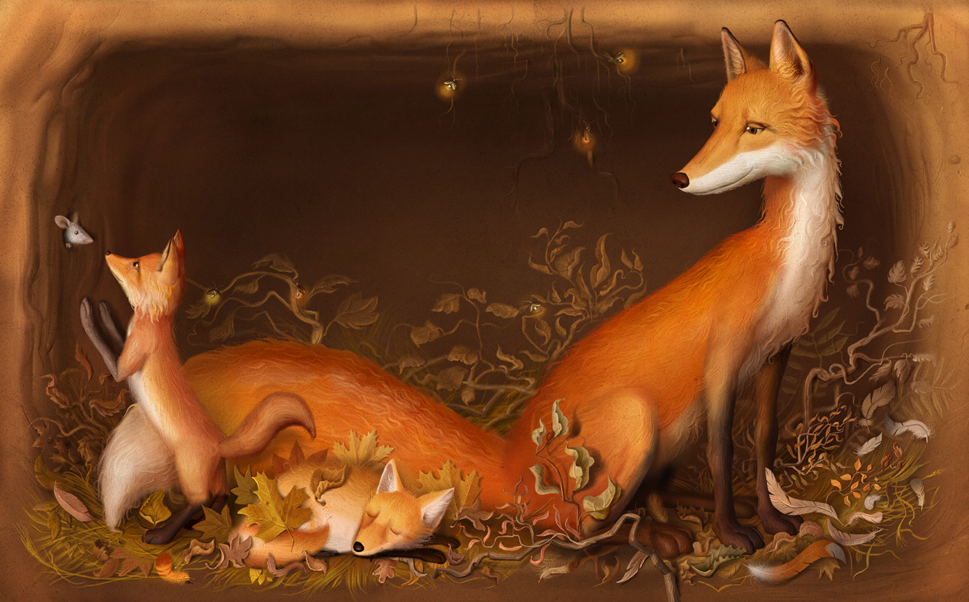 children book FOX book hare tale
