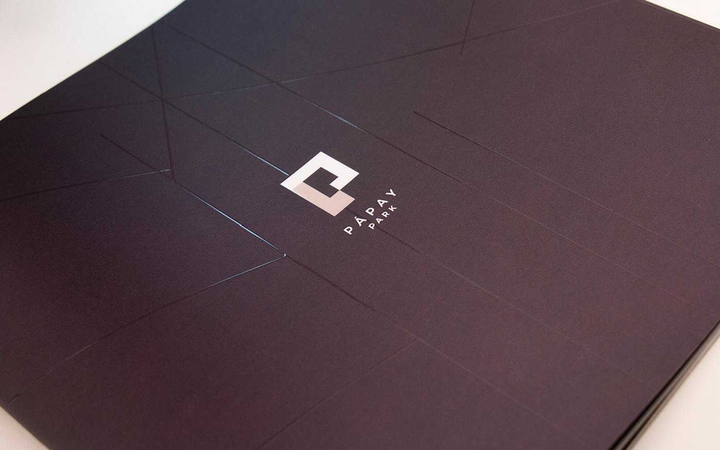 building real estate brossure branding  print
