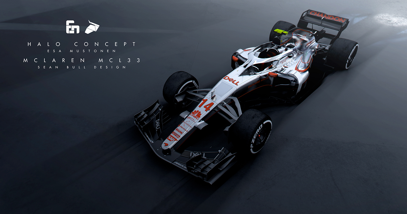 Halo Amp Mclaren Mcl33 Livery Concept On Behance