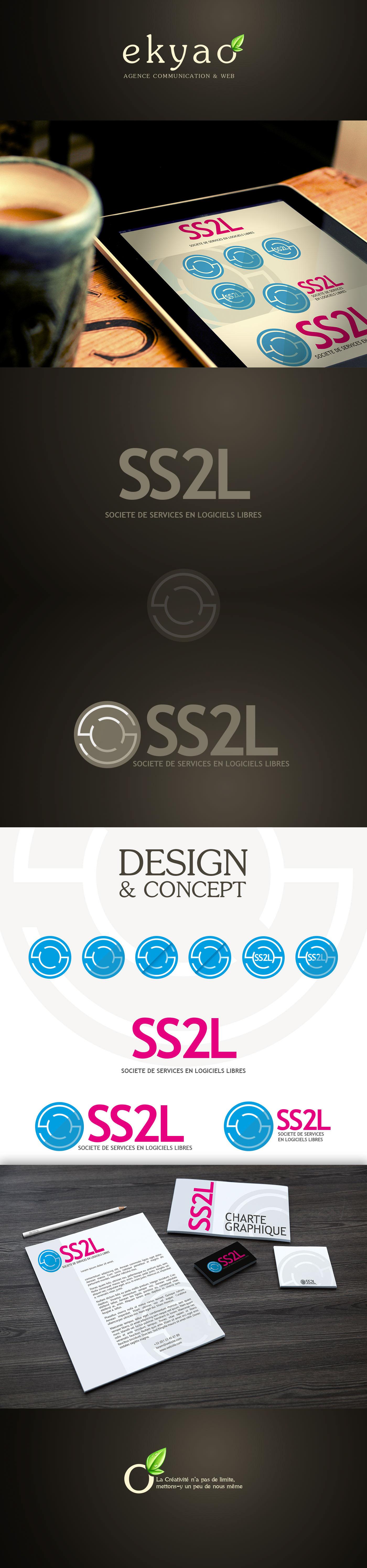 Adobe Portfolio ekyao Webdesign design logo presentation portfolio marketing   agence communication Web
