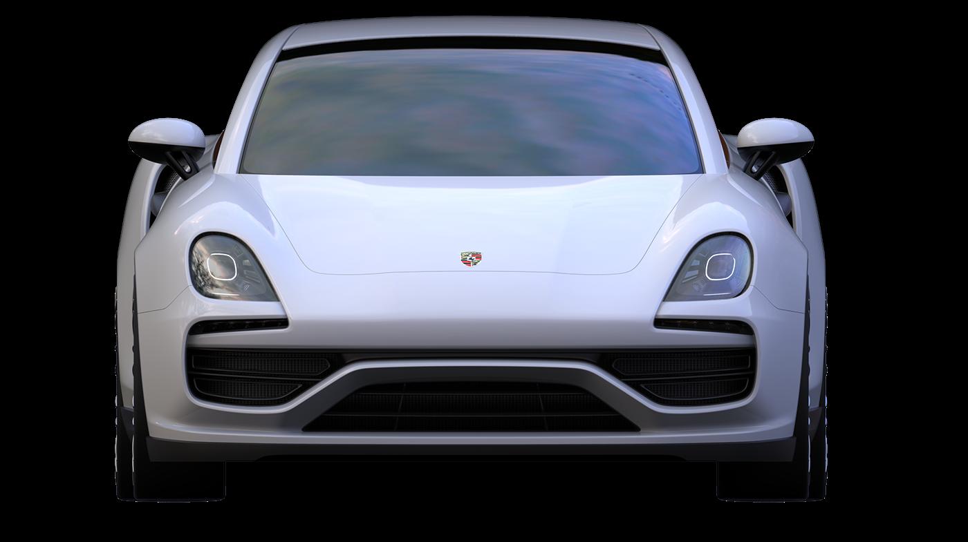 Porsche Alias keyshot 3D 3dmodeling