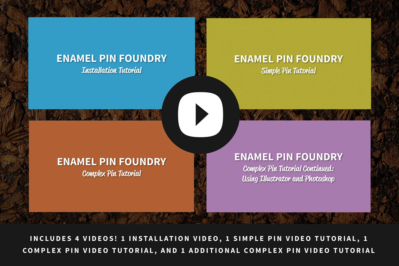 Enamel pin photoshop actions, layer styles, + tutorials on Behance