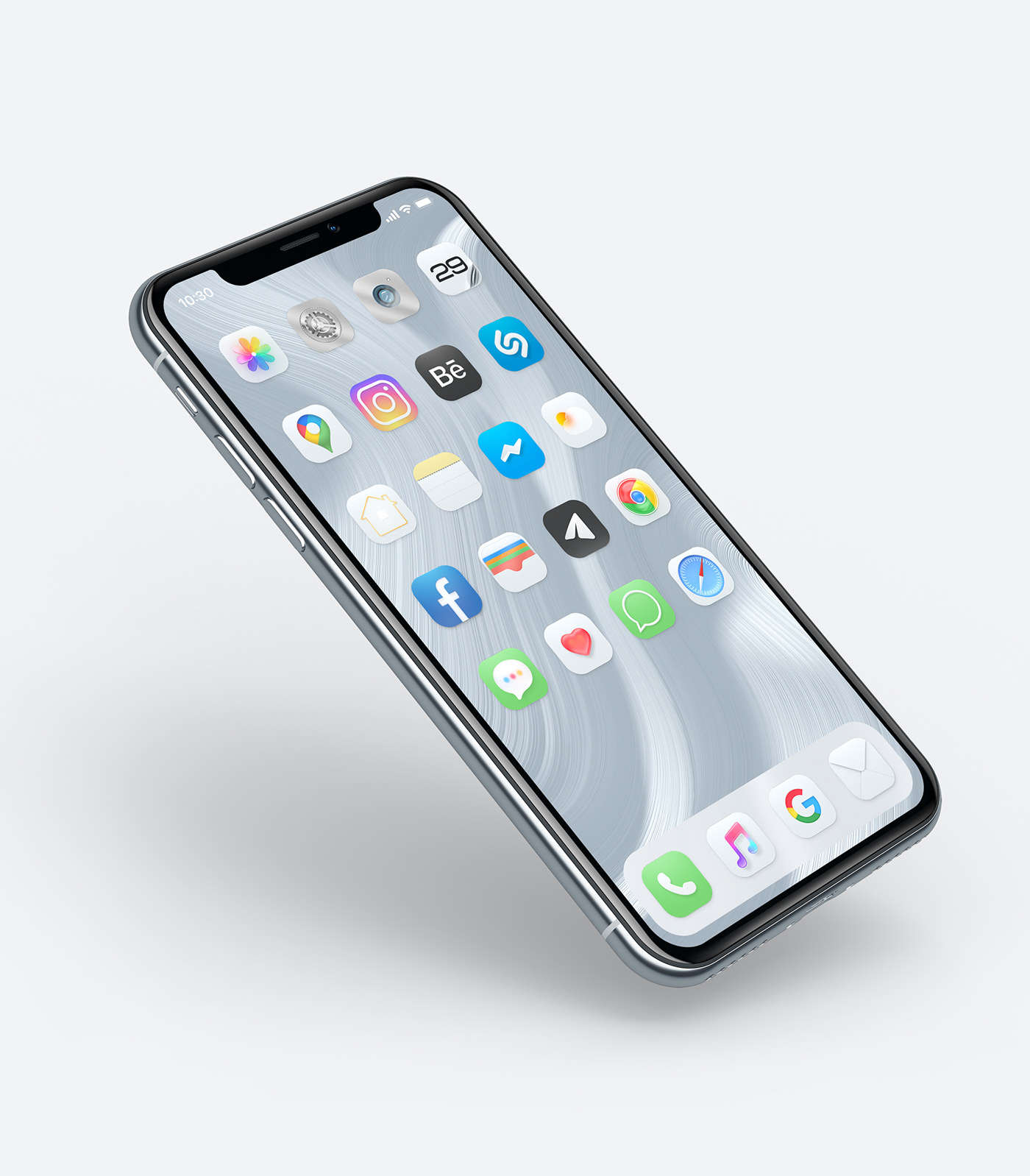 iPhone Mockup Classic Stateramorphism