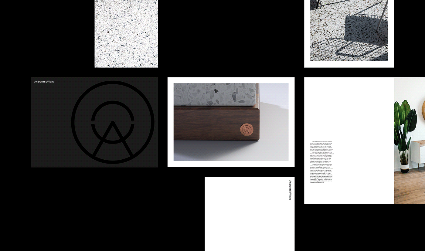 Document layouts for Andreozzi Wright