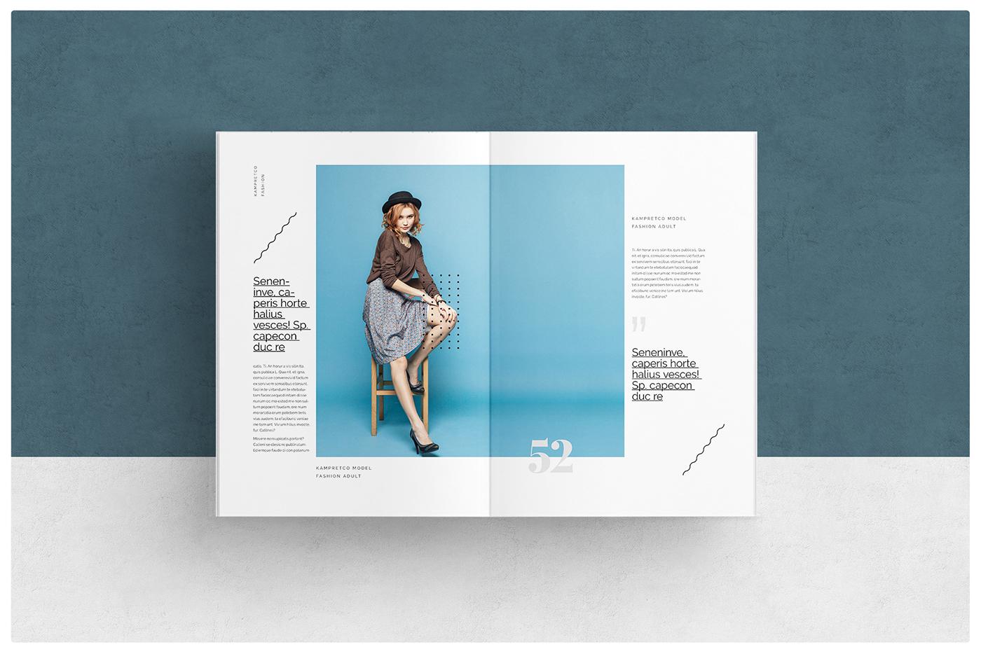 Fashion Magazine Layout Templates
