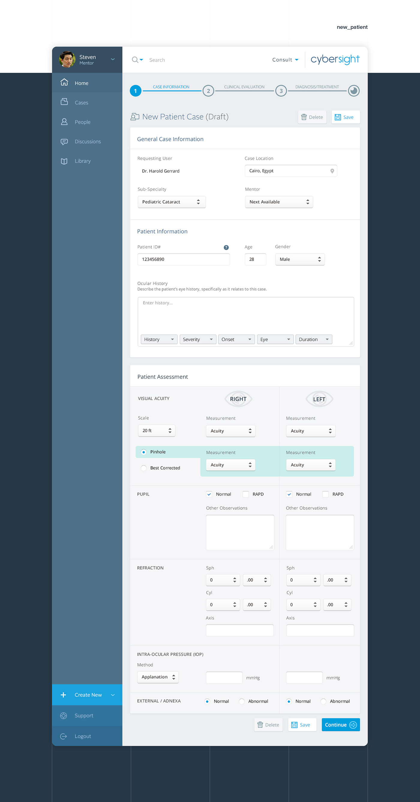 UI ux dashboard app mobile Web nonprofit